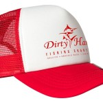Red and White Trucker Caps - R250