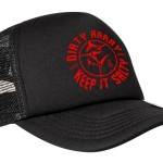Black and Red Trucker Caps - R250