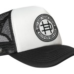 Black and White Trucker Caps - R250